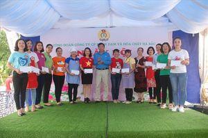 Công đoàn Công ty Đạm Hà Bắc: 110 chị em tham gia ngày hội 'Nữ công gia chánh'