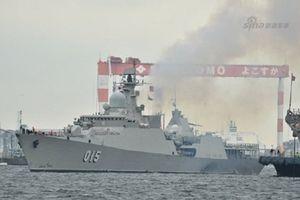 Tàu Trần Hưng Đạo tới Trung Quốc diễn tập đa phương