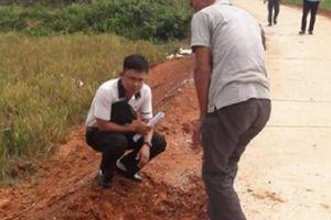 Phú Thọ: Công an vào cuộc vụ đường giao thông nghi bị 'rút ruột'