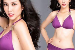 Ảnh bikini nuột nà của người đẹp thay Thúy An thi Hoa hậu Quốc tế