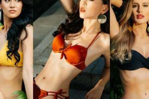 Mặc bikini nổi bật, Á hậu Phương Nga nóng bỏng 'vượt mặt' đối thủ