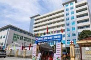 Thành lập Bệnh viện Trường đại học Y khoa Vinh