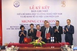 Việt Nam và Phần Lan thỏa thuận hợp tác về đổi mới sáng tạo và công nghệ