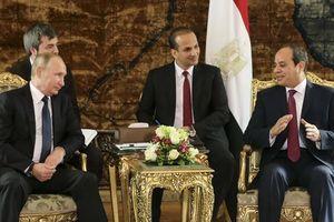 Nga - Ai Cập nâng tầm quan hệ lên mức cao nhất