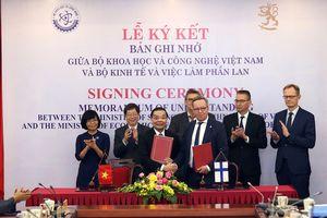 Việt Nam - Phần Lan đẩy mạnh hợp tác KH-CN và đổi mới sáng tạo