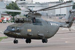 Tiết lộ bí mật trên trực thăng lớn nhất thế giới Mi-26T2V