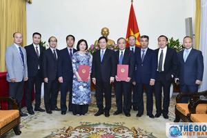 Bộ Ngoại giao trao quyết định bổ nhiệm 02 Tổng Lãnh sự