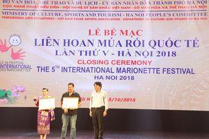 Việt Nam thắng lớn tại Liên hoan múa rối quốc tế 2018