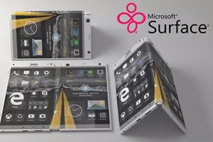 Microsoft có thể sản xuất Surface Phone màn hình gập