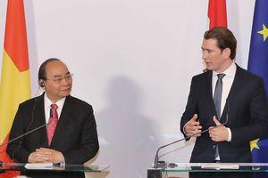 Cột mốc trong quan hệ Việt Nam - Áo