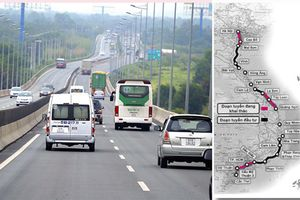 Mức phí cao nhất của cao tốc Bắc - Nam là 3.400 đồng/xe con/km