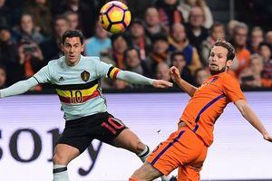 Bỉ - Hà Lan (1 giờ 45 ngày 17.10): Quỷ đỏ trừng trị cơn lốc da cam