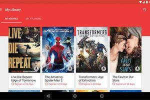 Phim trên Google Play sắp nâng cấp miễn phí lên 4K