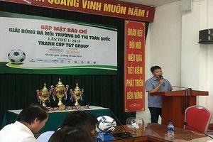 Lần đầu tiên có giải bóng đá dành cho công nhân vệ sinh môi trường