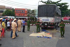 Vợ và mẹ vợ cán bộ công an tử vong dưới gầm xe tải