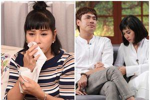 Hai lần Cát Phượng xuất hiện cùng Kiều Minh Tuấn, một lần khóc vì tình yêu, một lần khóc vì tủi khổ