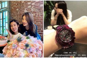 CHƠI LỚN như Mai Phương Thúy, tặng hẳn đồng hồ 1 tỷ mừng sinh nhật Đỗ Mỹ Linh