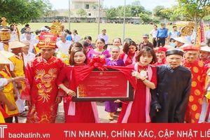 Di sản ký ức thế giới 'Hoàng Hoa sứ trình đồ' về Hà Tĩnh