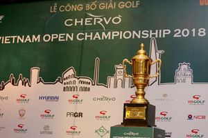 Tổng giải thưởng Chervo Vietnam Open Championship lên đến 8 tỷ đồng