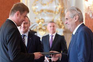Tổng thống Séc bổ nhiệm ông Tomas Petricek làm tân Ngoại trưởng