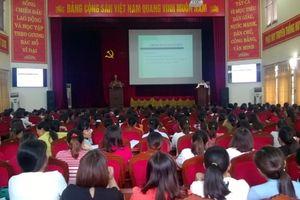 LĐLĐ huyện Ứng Hòa: Tập huấn công tác an toàn vệ sinh lao động