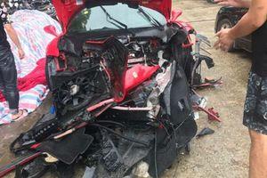 Siêu xe Ferrari của ca sĩ Tuấn Hưng gặp nạn trên cao tốc: Đã xác định danh tính tài xế