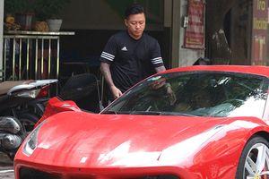 Lý do Tuấn Hưng mạnh tay chi 16 tỷ mua Ferrari 488 GTB vừa gặp tai nạn nát đầu
