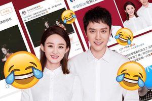 Fan couple chèo thuyền Triệu Lệ Dĩnh với nam thần khác cảm thấy sốc với tin nhà gái đã kết hôn