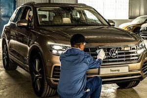 'Xe bình dân Đức' Volkswagen Touareg 2019 xuất hiện tại Việt Nam