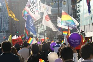 Diễu hành tự hào của LGBT Hàn Quốc: 2.000 cảnh sát bảo vệ người tham gia