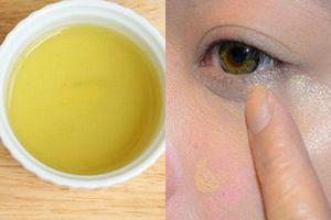 Nhờ dùng vài giọt nước này mỗi ngày, đôi mắt mệt mỏi vì thâm quầng, nếp nhăn trở nên tươi sáng, rạng ngời hơn sau 1 tuần