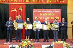 Doosan Vina kỷ niệm 10 năm thực hiện chương trình Y tế Từ thiện tại Việt Nam
