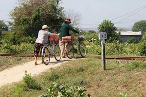 Tai nạn rình rập trên tuyến đường sắt qua Ninh Thuận
