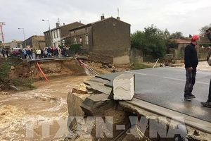 Số người chết vì lũ lụt tại Pháp gia tăng