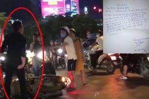 Đánh phụ nữ mang bầu 8 tháng trên phố Hà Nội: Nam thanh niên viết thư xin lỗi