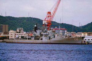 Khu trục hạm Sovremenny của Trung Quốc 'tái ngũ' với năng lực đầy nguy hiểm