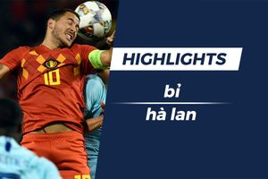 Highlights Mertens volley đẹp mắt, ĐT Bỉ hòa 1-1 Hà Lan
