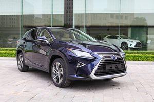 Chi tiết Lexus RX450h động cơ hybrid giá 4,5 tỷ đồng tại VN