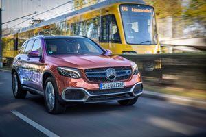 Xe không cần xăng của Mercedes lăn bánh cuối tháng này