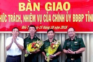 Bộ đội Biên phòng Bến Tre có Chính ủy mới