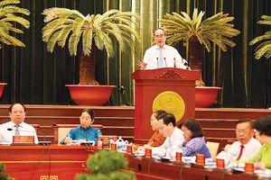 Bế mạc Hội nghị Thành ủy TPHCM lần thứ 18: Phát huy sáng tạo, đột phá về cải cách hành chính
