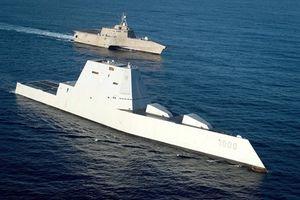 Khu trục hạm tàng hình Mỹ - Trung Quốc ai mạnh hơn ai?