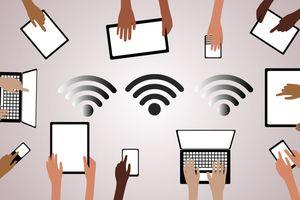 Internet không dây len lỏi vào các gia đình
