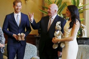 Vợ chồng Hoàng tử Harry và Meghan Markle công du Australia