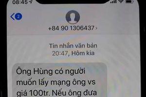 Thừa Thiên-Huế: Công an điều tra việc nguyên Chánh văn phòng Đoàn ĐBQH tỉnh bị nhắn tin đe dọa, tống tiền