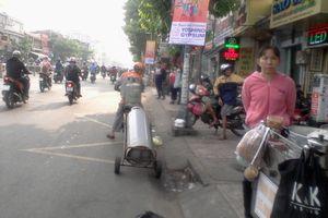 Chở gas nguy hiểm trên đường ở TP.HCM