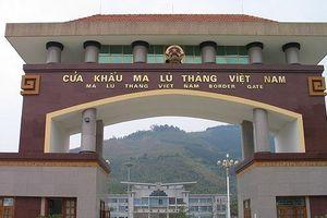 Loạt sai phạm tại Ban quản lý Khu kinh tế Cửa khẩu Ma Lù Thàng, Lai Châu