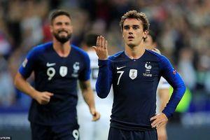 Griezmann lập cú đúp, Pháp đẩy Đức lún sâu vào khủng hoảng