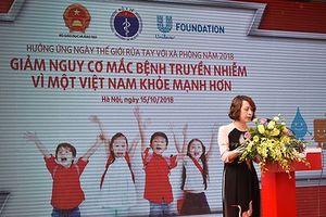 Hưởng ứng Ngày thế giới rửa tay với xà phòng 2018 tại Hà Nội