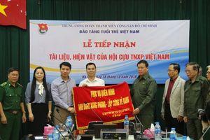 Bảo tàng Tuổi trẻ Việt Nam tiếp nhận tư liệu, hiện vật lịch sử Thanh niên xung phong